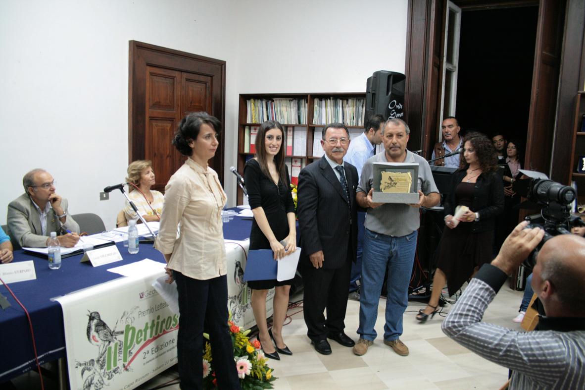 da sinistra Anna Rita Saccomano, Consuelo Ruggiero, Costantino Spagnolo e Francesco Fontana