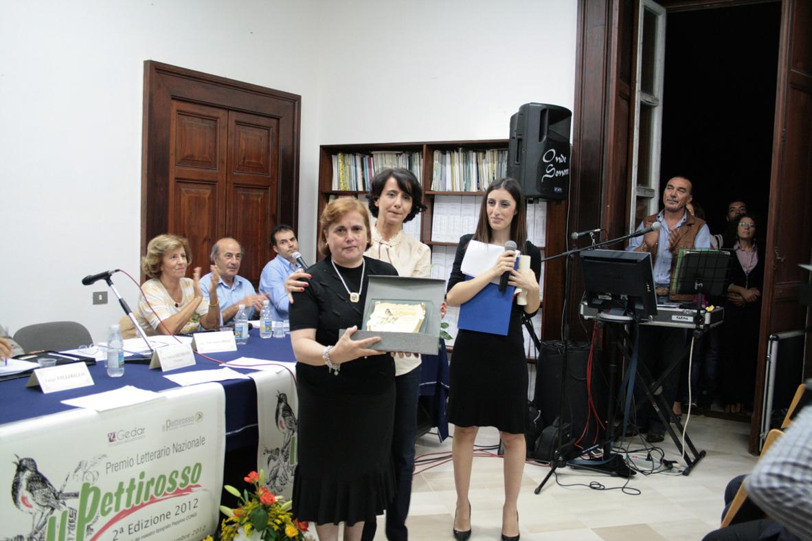 da sinistra Rita Eleonora Vizza, Anna Rita Saccomano e Consuelo Ruggiero