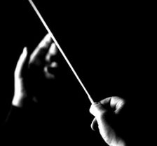 Bacchetta direttore d'orchestra
