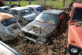 Discarica auto