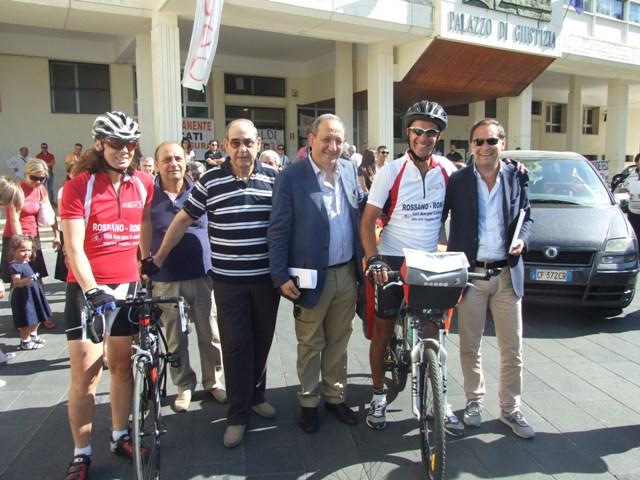 Tribunale in bici