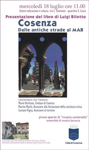 libro Luigi Bilotto 18 luglio