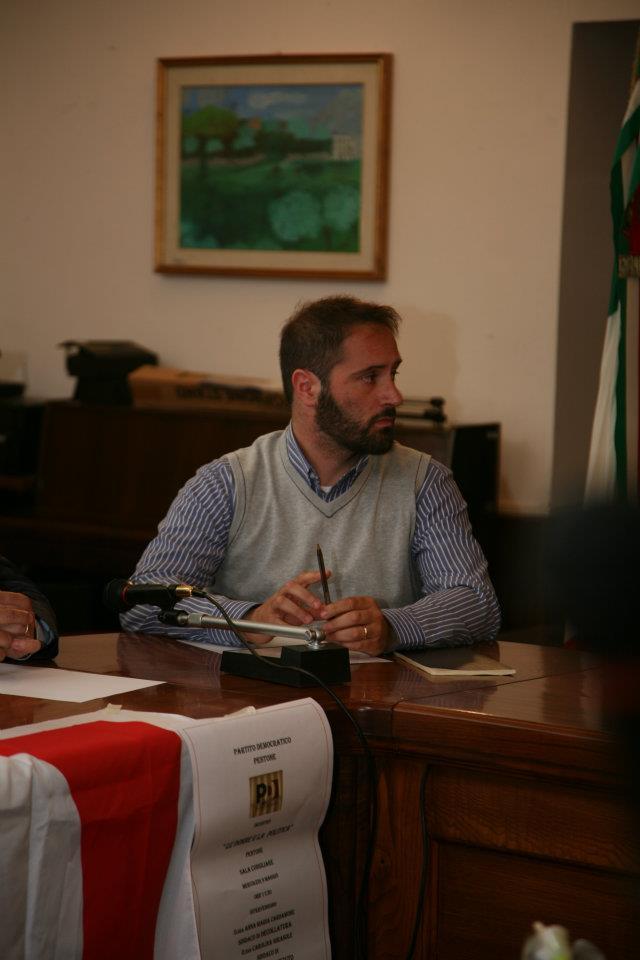Vincenzo Marino, eletto coordinatore del Circolo PD Pentone