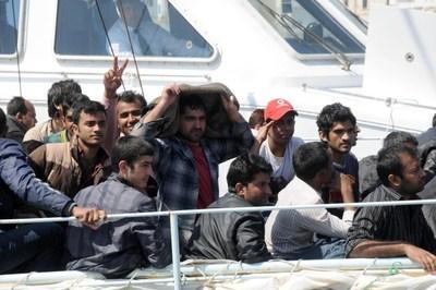 sbarco immigrati