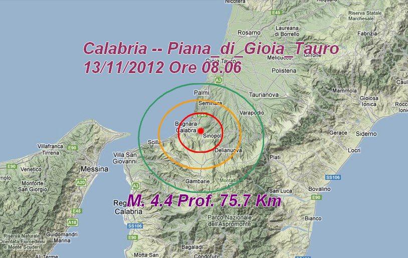 terremoto reggio calabria