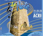 LOCANDINA-LE NOTE IN CHIAVE