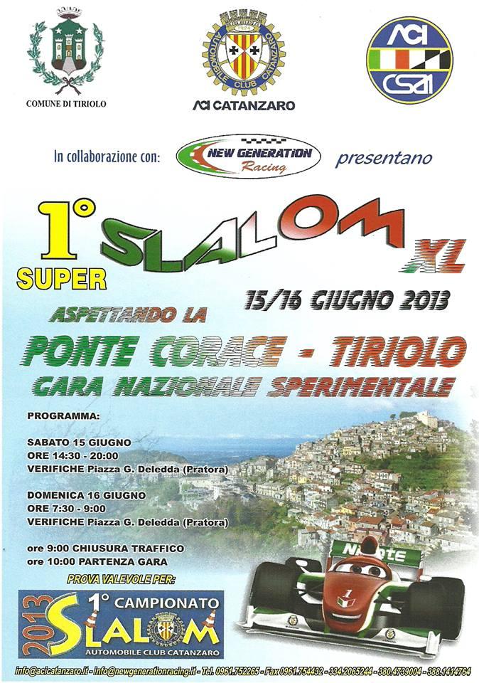 locandina slalom 16-06-2013