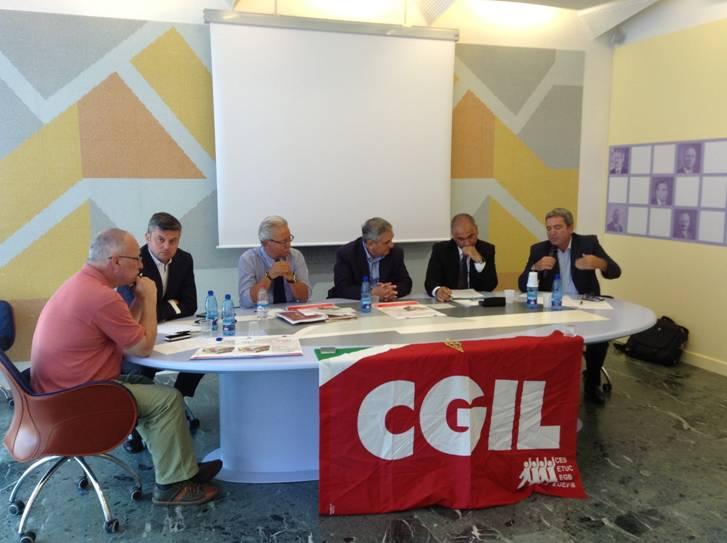 Mancini - convegno Cgil