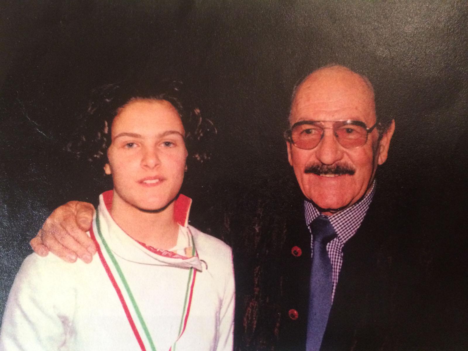 Chiara Caparello e Armando Ruffo nel 1996