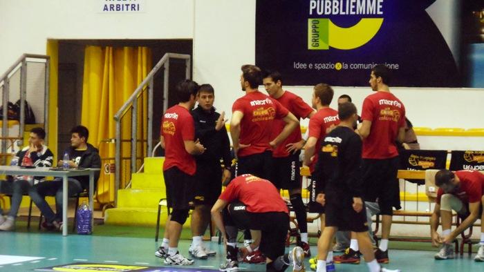 Le indicazioni di coach Blengini al team vibonese
