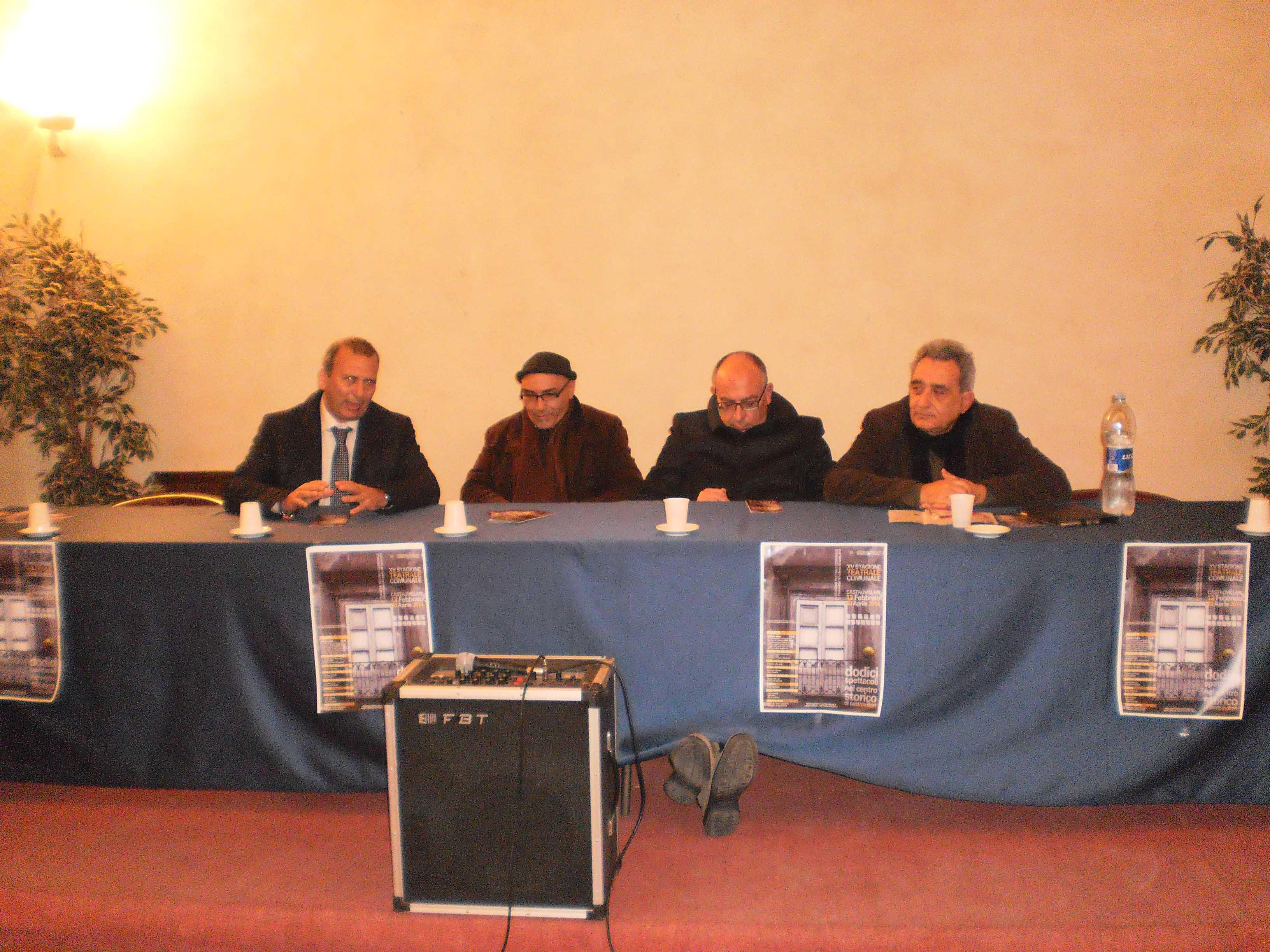 presentazione stagione teatrale Castrovillari