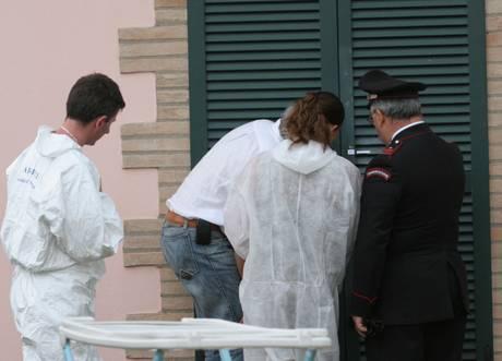 25-05-07-MARSCIANO-OMICIDIO RAPINA carabinieri ris