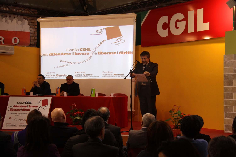 Cgl congresso provinciale 2009