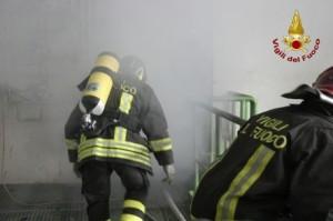 Rifiuti: incendio in termovalorizzatore Crotone spento da Vigili del Fuoco