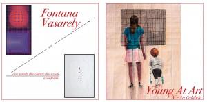 Vasarely – Fontana. Due mondi, due culture, due scuole a confronto mostra a cura di Valmore Zordan @ Acri (CS) - MACA (Museo Arte Contemporanea Acri) | Acri | Calabria | Italia