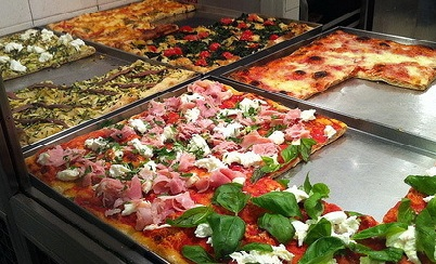 Il gambero rosso premia acri per la miglior pizza al taglio for Arredamenti pizzerie al taglio