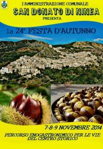 XXIV Festa d'Autunno a San Donato di Ninea @ San Donato di Ninea