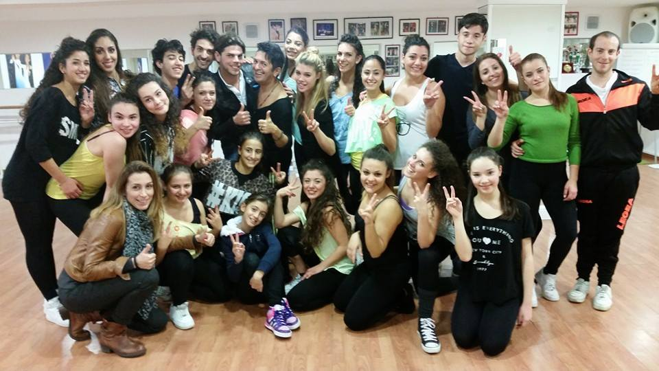 CROSIA Eurodance, Frattini stage