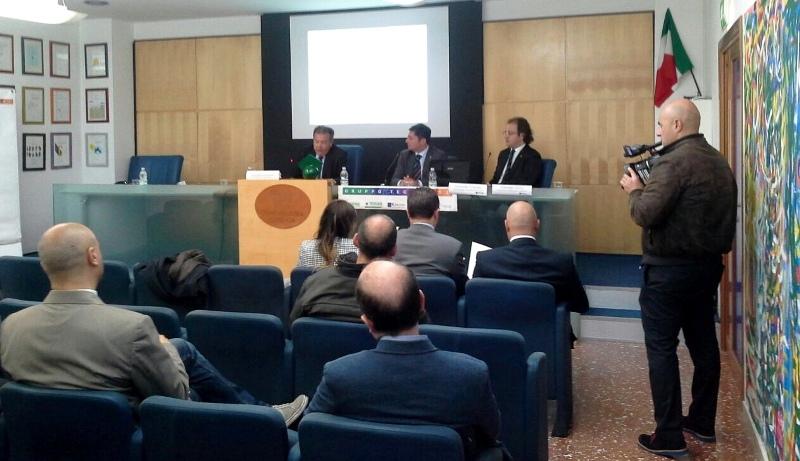 Foto conferenza stampa Tecnocasa Cosenza 27.11.14