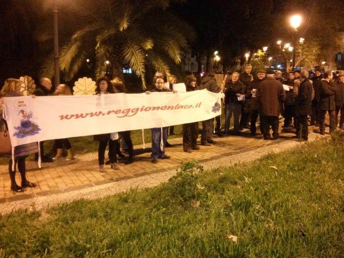 """Manifestazione movimento """"Reggio non tace"""""""