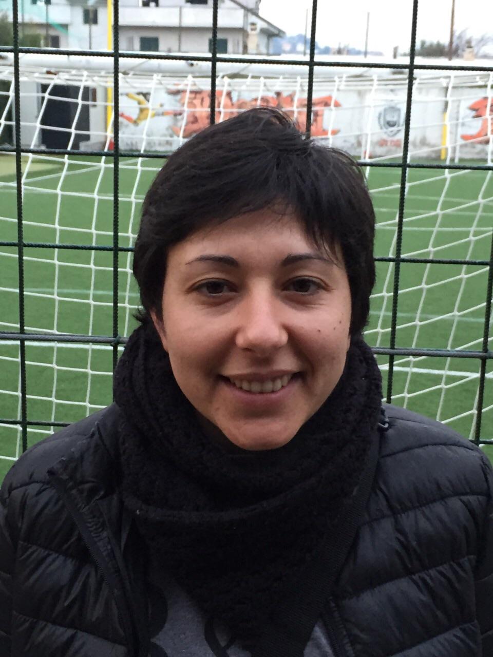 Tiziana Pota, autrice di una tripletta a Borgia