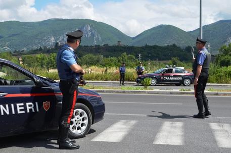Posto di controllo carabinieri