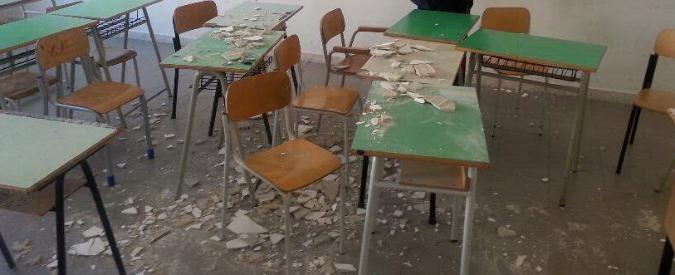 Crolla l 39 intonaco in una scuola elementare for Scuola di moda pescara