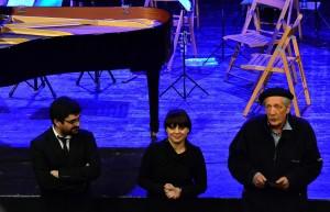 Da sinistra: Marco Gatto, Maria Scalese, Antonello Antonante
