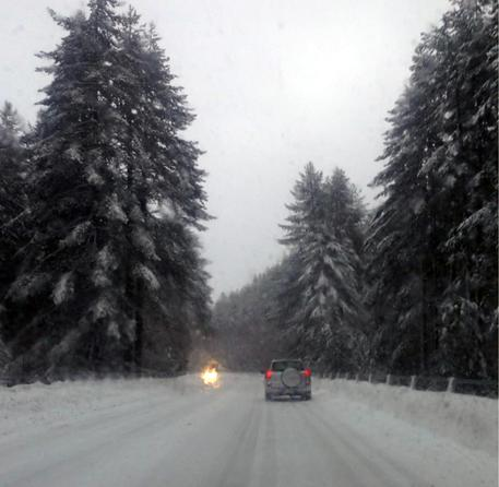 Maltempo: nevica in Sila e Pollino, sole nel resto Calabria