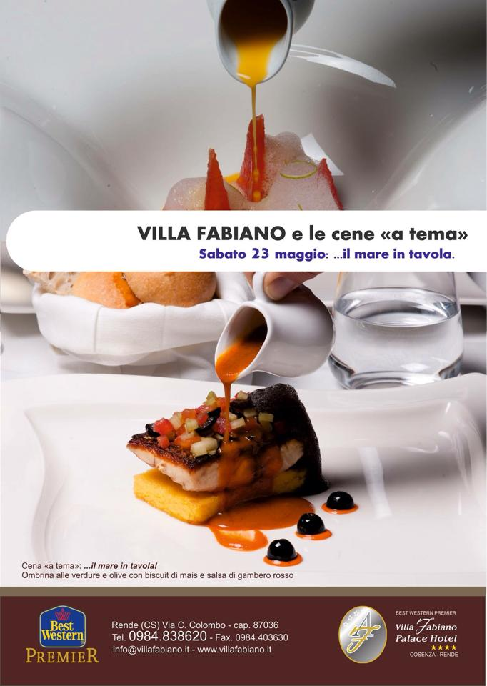 Villa fabiano e il quasimodo restaurant portano il mare in tavola - Il mare in tavola ...