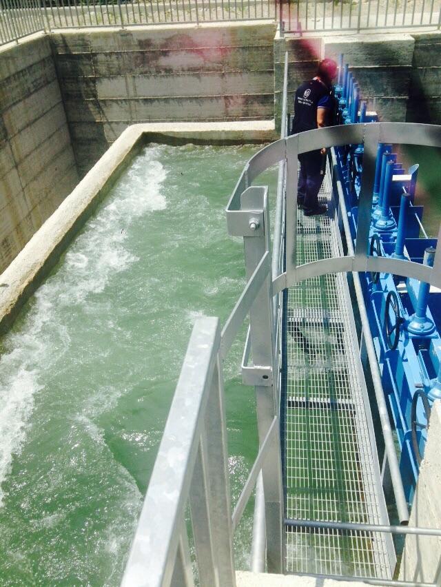 L'acqua dell'impianto consortile