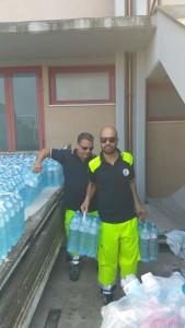 Il carico di acqua
