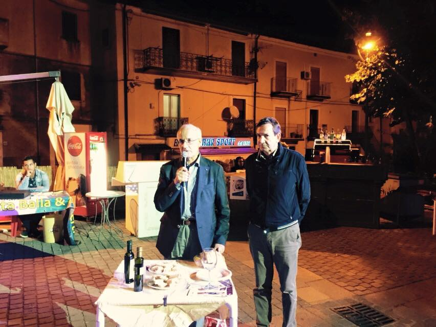 Degustazioni con il sindaco Lateano
