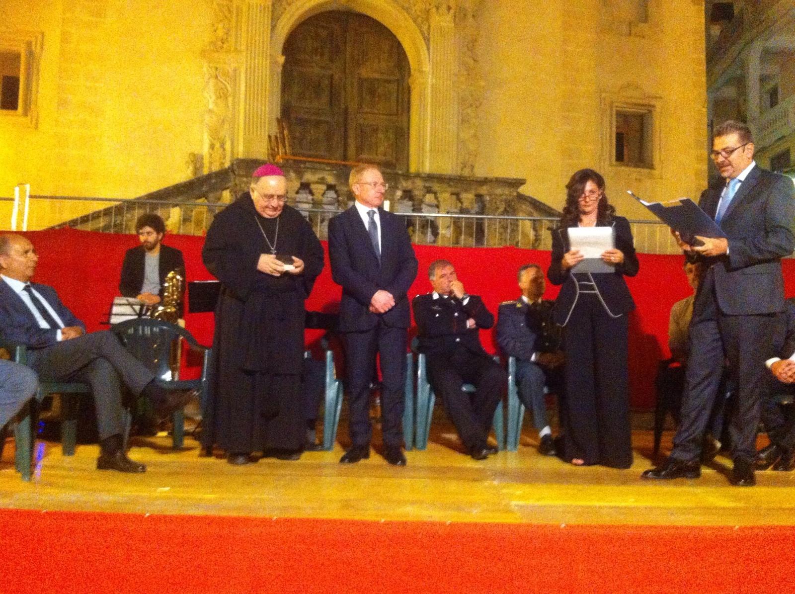 Il Prefetto premia Fiorini Morosini