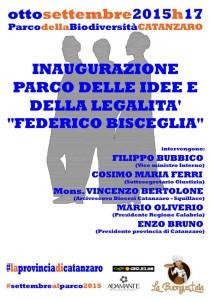 Inaugurazione Parco delle Idee