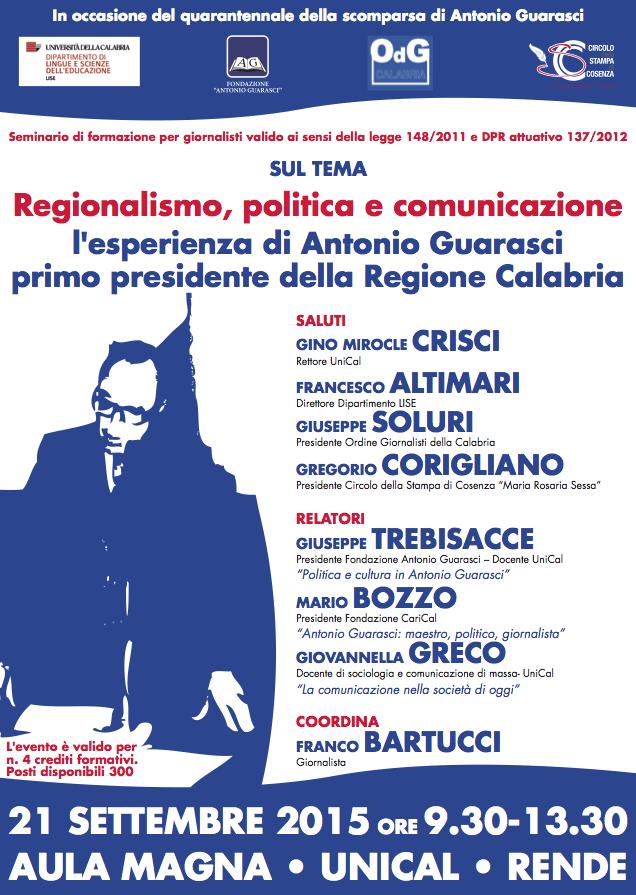 Locandina Corso Giornalisti (Guarasci)