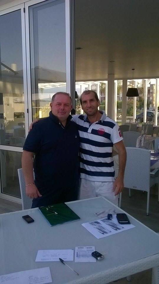 Patron Guccione e Lino Amoruso