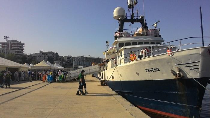 A Reggio Calabria giunti 332 migranti