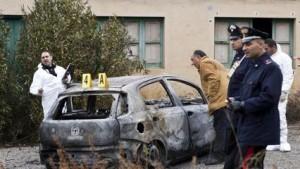 Auto bruciata campolongo