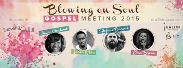 blowing on soul gospel