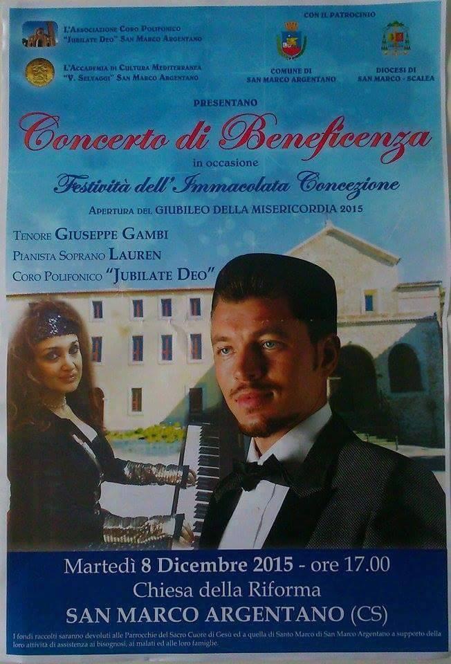 concerto beneficenza