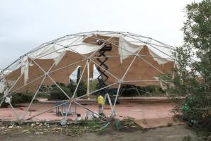 cupole geodetiche lavori