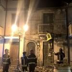 Crollo abitazione a Lamezia Terme