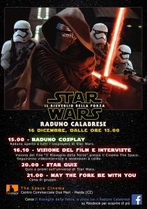 Manifesto Star Wars Raduno