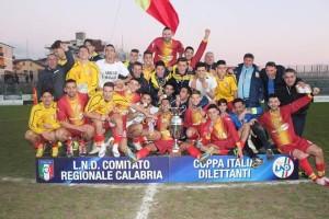 Il Sersale ha vinto la Coppa Italia dilettanti 2015-'16 contro il Sambiase per 2-1