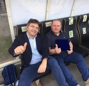 Il Vice Presidente Mario Elmo e Patron Michele Guccione