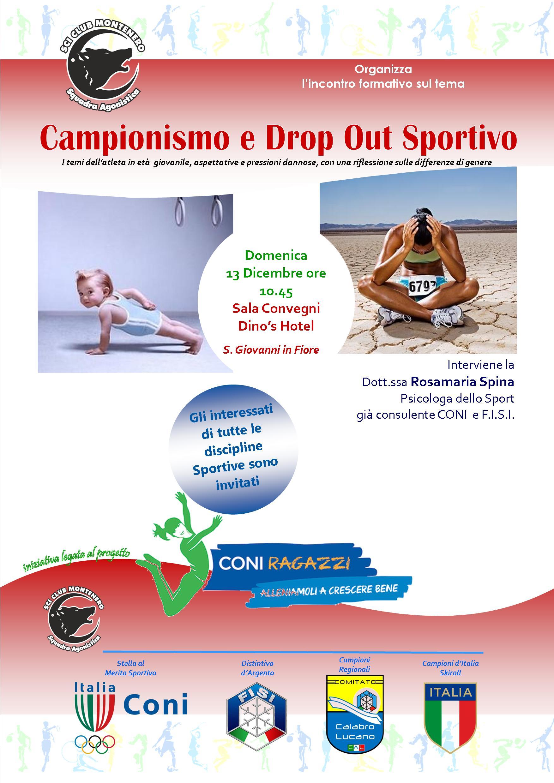 Locandina Campionismo e Drop Out 13 dicembre (1)