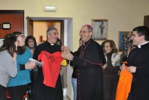 Padre Carmine e S.E. Mons. Nolè