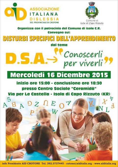associazione italiana dislessia evento dicembre 2015