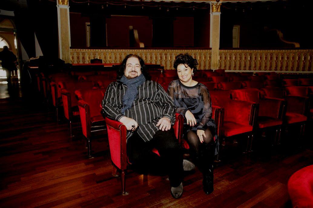 il tenore antonello palombi e il soprano stefanna kybalova